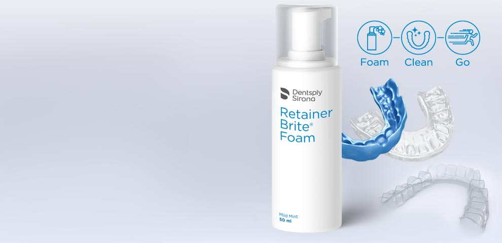 Retainer Brite® Cleaning Foam